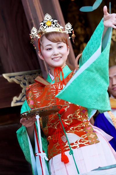 中山寺 無縁経花祭り