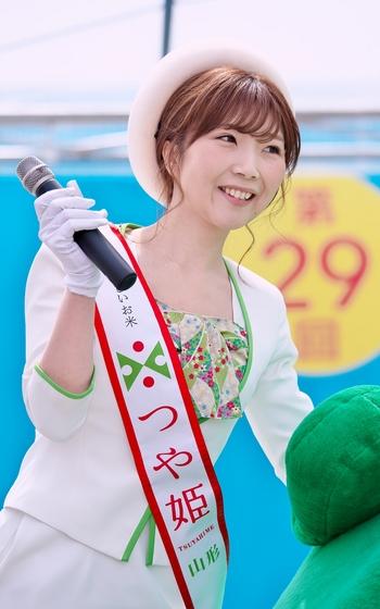 旅まつり名古屋2017 つや姫レディ
