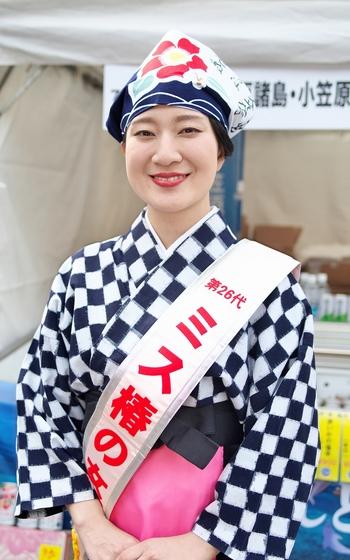 旅まつり名古屋2017  ミス椿の女王